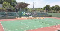 ソフトテニスの大会☆