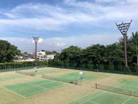 凄く良い天気です!ウィングローバルテニスアカデミー熊谷