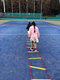 本日智光山公園テニススクールでレッスンでした!