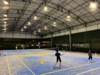 激しい夕立 幕張テニススクール