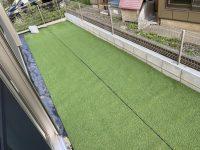 人工芝DIYパート3 幕張テニススクール