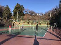 絶好のテニス日和☼