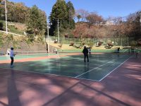 テニスゲーム形式練習