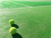 自宅でできるテニストレーニング①