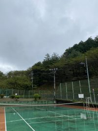 生憎の雨!