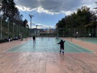 寒さに負けるな!!ウイングローバルテニス青梅