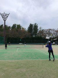 智光山公園テニススクールがお休みで