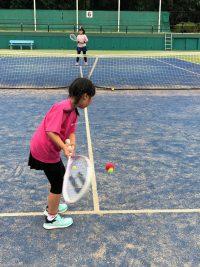 智光山公園テニススクールでは