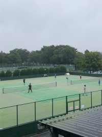 本日ダブルスイベントを行いました!智光山公園テニススクール